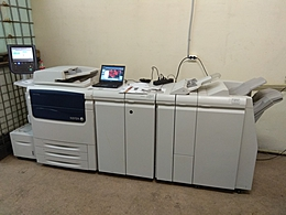 Xerox C75 Press с финишными опциями